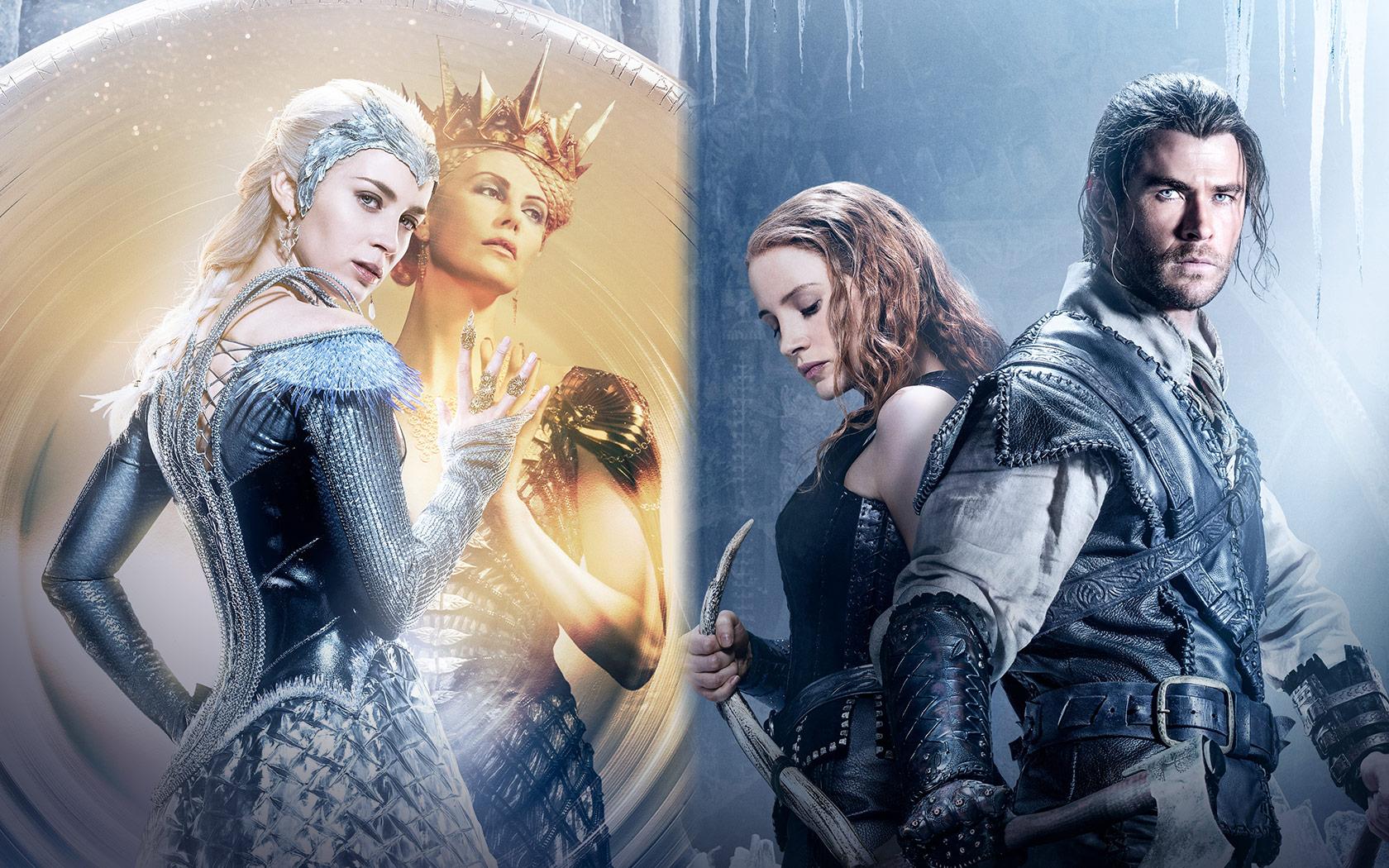 """... tendrá esta secuela y ya han lanzado los primeros pósters de la  película, un tráiler y la primera sinopsis oficial. """"El Cazador y la reina  del hielo"""" ..."""