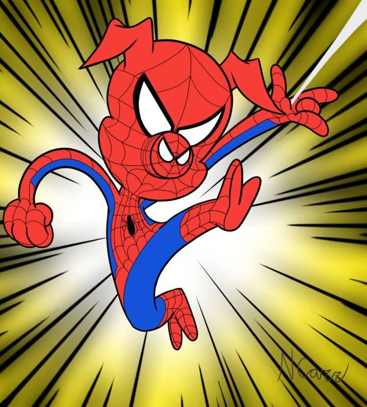 ¿Cuáles son sus personajes favoritos? Spider_ham_by_yojama_dcvesq4-pre